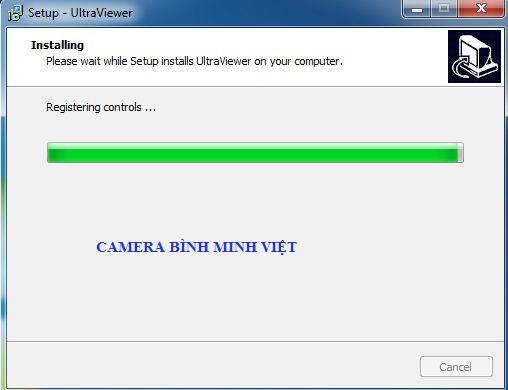 kết thuch cài đặt ultraviewer